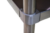 Atosa Catering Equipment ATSE equipment stands corner bracing image
