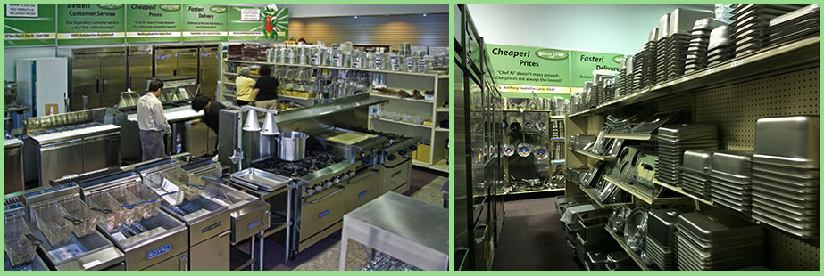 Asian restaurant equipment warehouse finde