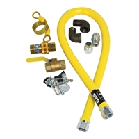 "3/4 Gas Hose Kit - 48"" Long, (32-1647)"