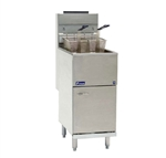 Pitco 40-Pound Economy Tube-Fired Gas Fryer - 90,000 BTU, (35C+S)