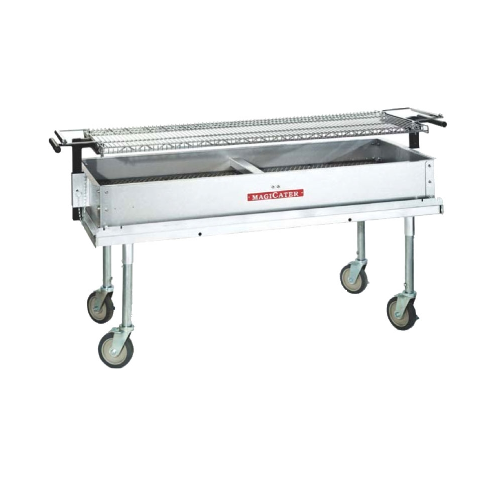 Heavy Duty Charcoal Barbecue : Majikitchn heavy duty charcoal grill cg commercial