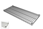 "Royal Industries Poly Coated Zinc Wire Shelf - 14"" Deep x 42"" Long, (ROY S 1442 Z)"