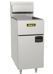 Anets 40-Pound All-Purpose Commercial Gas Fryer - SilverLine Series, (SLG40)
