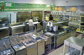 Gator Chef picture of showroom located at 100 frontier way Bensenville, IL 60101