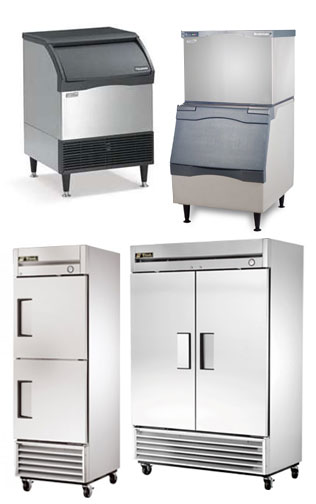 Restaurant Kitchen Refrigerator restaurant equipment rental and leasing - commercial refrigeration