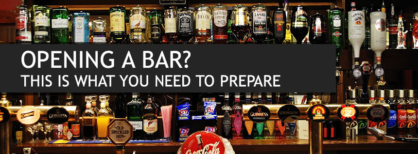 Opening A Bar What Supplies And Equipment You Will Need