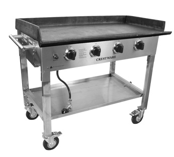pcg portable commercial griddle for outdoor events