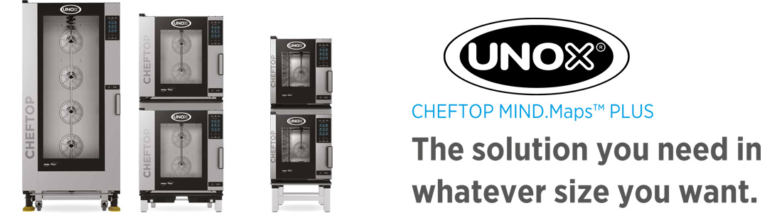 UNOX CHEFTOP MIND.Maps Plus Combi Ovens Manufacture's information page image of ovens