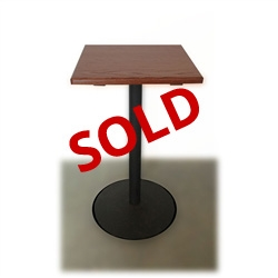 Used 24 Inch Square Pub Table