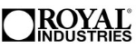 "Royal Industries Bar Mat - 3.25"" x 27"", (ROY BARMAT)"